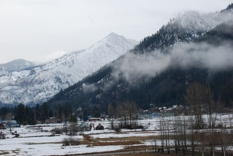 The hills around Leavenworth