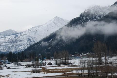 The hills around Leavenworth