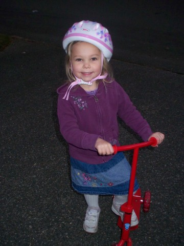 sarah ready to ride