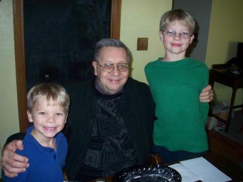 Daniel, David and g'pa