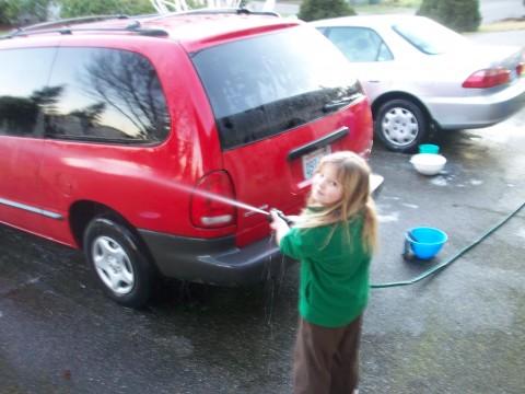 spraying rachel