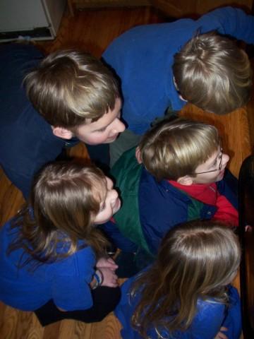 kids looking