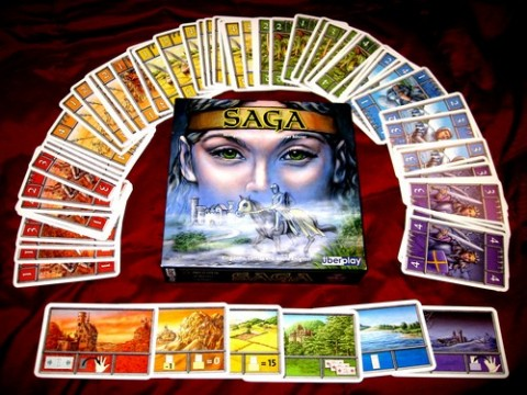 The game of Saga