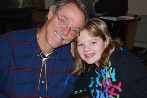 grandad and sweet rachel