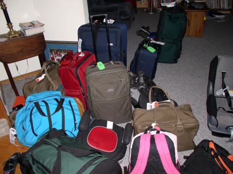 Luggage for seven