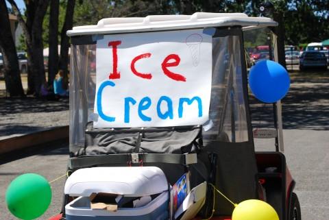 Ice cream!  Ice Cream!