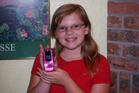 Rachel's New Phone