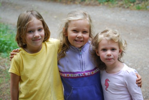 Avery, Sarah and Ava