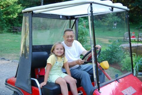 sarah and grandpa