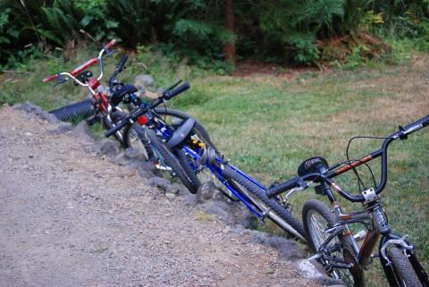 the infamous bikes