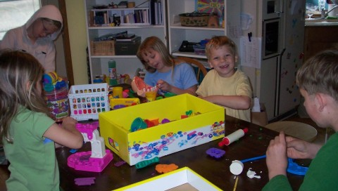playdoh kids