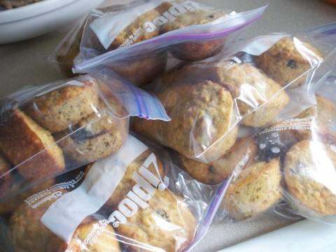 bags of muffins