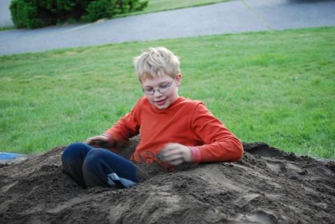 It's a dirt sit-in