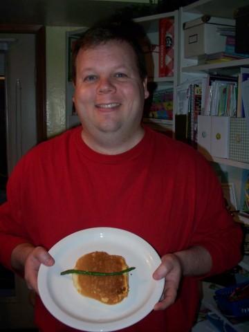 tim's dinner plate