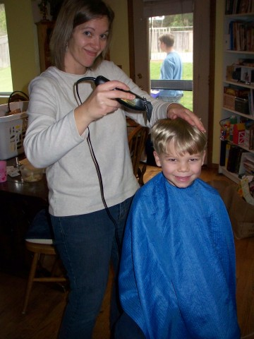 david's hair cut