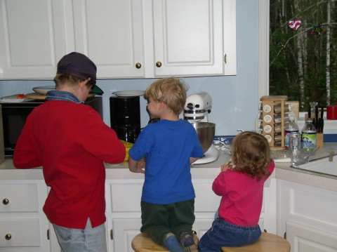 joshua, david and sarah baking