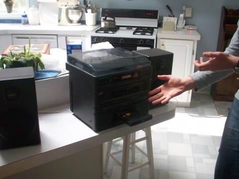 Backup CD Player