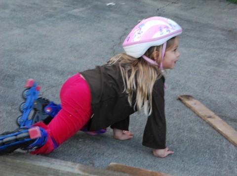 sarah crawls away