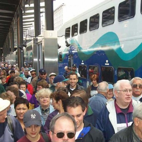 Sounder Commuters