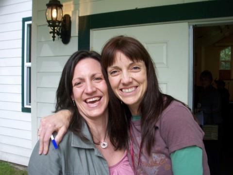 Kirsten and Michelle