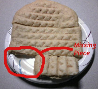 Stolen Pancake Fragment
