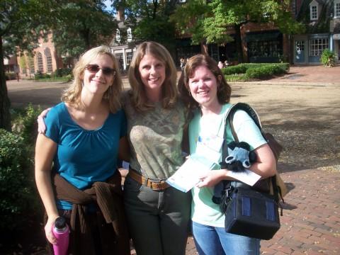 Kathy, Emiily and Rachel