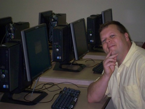 Computer lab at Tyler