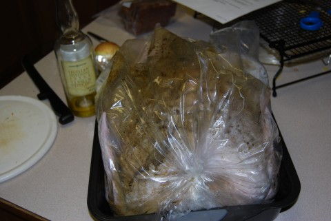 turkey in a bag