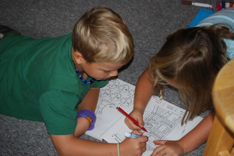 we love to color!