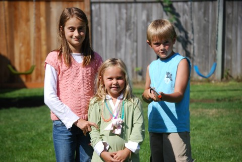 Emma, Sarah and Eli