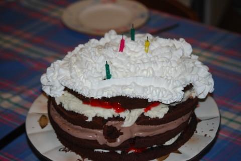 Oozing Cake