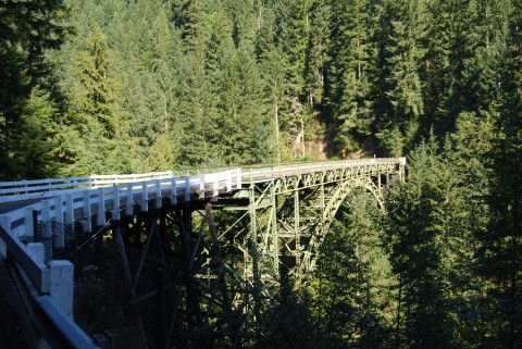 A very high bridge