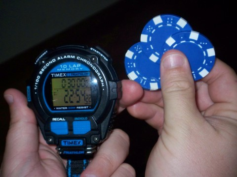 timer and chips