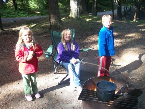 Our precious campfire
