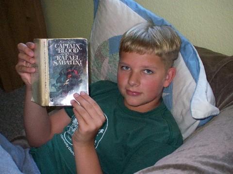 Joshua reading