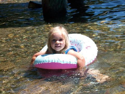 Sarah's float